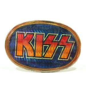 Vintage KISS Alive II 1977 Pacifica Belt Buckle